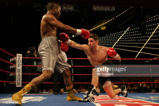 January 23: MANDATORY CREDIT Bill Tompkins/Getty Images Chris Algieri defeats James Hope by Unanimous Decision during their Welterweight fighton...