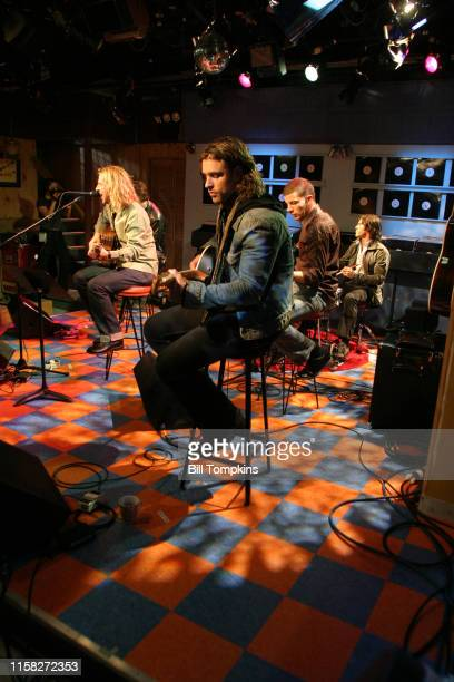 Bill Tompkins/Getty Images Collectove Soul studio performance on September 2006 in New York City