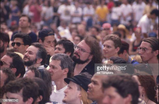 Bill Tompkins/Getty Images Crowd during the Lollapalooza Music Festival on August 19, 1993 in Randall's Island.