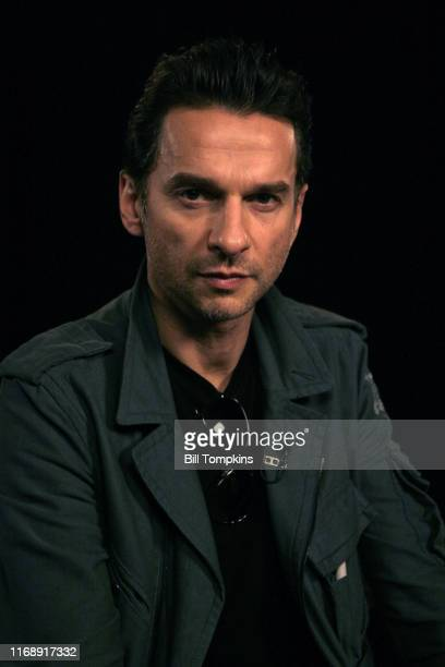 Bill Tompkins/Getty Images Dave Gahan of Depeche Mode on October 24, 2005 in New York City.