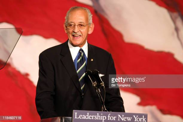 November 7, 2006: MANDATORY CREDIT Bill Tompkins/Getty Images Denny Farrell speaks during the Democratic Victory Celebration at the Sheraton Hotel on...