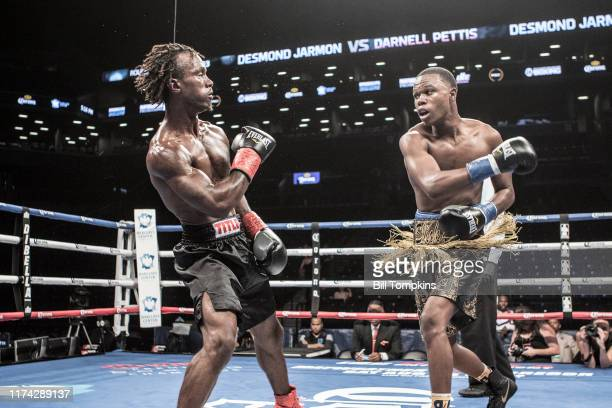 Bill Tompkins/Getty Images Desmond Jarmon defeats Darnell Pettis by Unanimous Decision in their Featherweight bout at the Barclay's Center in...