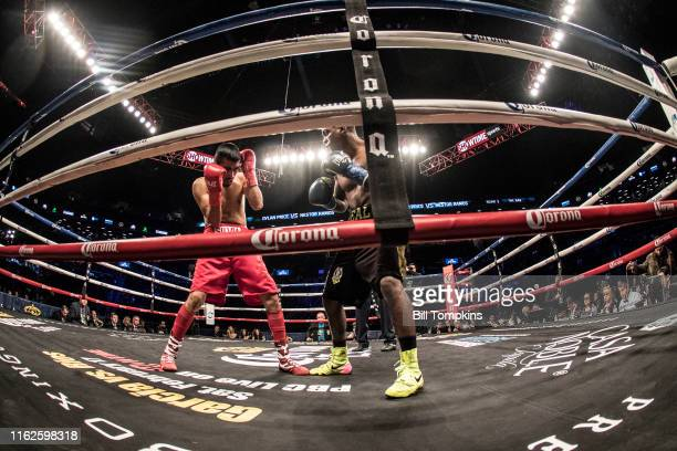 January 20: MANDATORY CREDIT Bill Tompkins/Getty Images Dylan Price defeats Nestor Ramos by RTD in the 1st round in their BantamWeight fight at the...