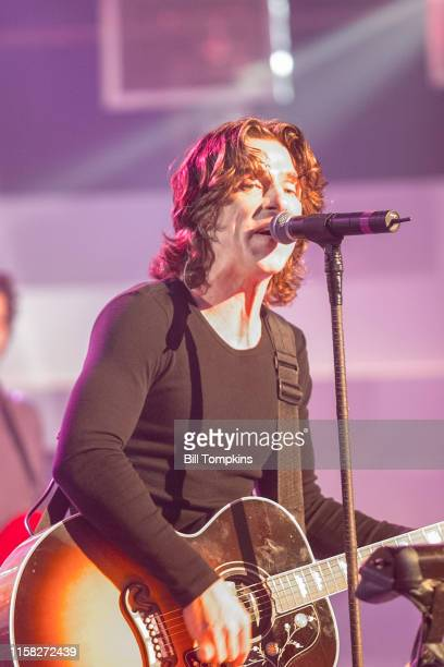 MANDATORY CREDIT Bill Tompkins/Getty Images Ed Rolland lead singer of Collective Soul on September 15 1999 in New York City