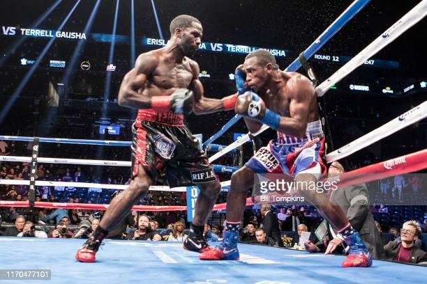 October 14: MANDATORY CREDIT Bill Tompkins/Getty Images Erislandy Lara defeats Terrell Gausha by TKO in their Super Welterweight fighton October 14,...