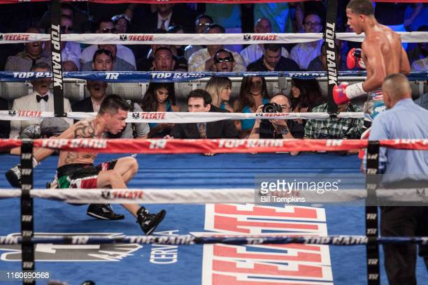 June 13: MANDATORY CREDIT Bill Tompkins/Getty Images Felix Verdejo defeats Ivan Najera by Unanimous Decision in their in their Lightweight fight at...