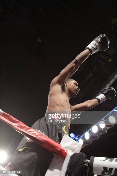 January 25: MANDATORY CREDIT Bill Tompkins/Getty Images Felix Verdejo defeats Lauro Alcantar by KO in the 1st round in their Lightweight fight at...