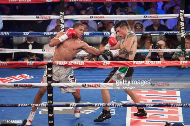 June 13: MANDATORY CREDIT Bill Tompkins/Getty Images Felix Verdejoat defeats Ivan Najera by Unanimous Decision in their in their Lightweight fight at...