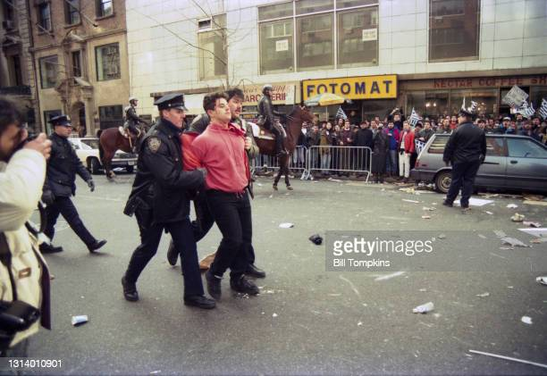 Bill Tompkins/Getty Images Greek vs Macedonian protest 1992 in New York City. The dispute arises from the ambiguity in nomenclature between North...