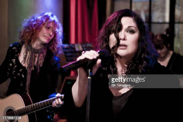 Bill Tompkins/Getty Images Heart performing on a television program on September 24, 2007 in New York City.