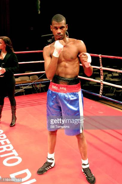 Bill Tompkins/Getty Images Hector Manuel Sanchez defeats Dwayne Hall by Majority Decision in their Super Lightweight fight at BOXEO CALIENTE a boxing...