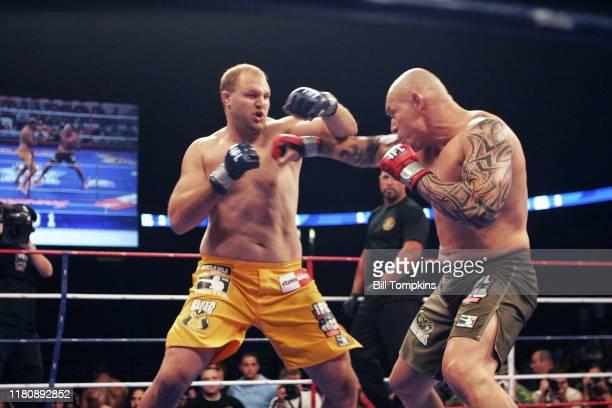 Bill Tompkins/Getty Images IFL International Fight League Ben Rothwell vs Krystal Soszynski Continental Arena August 2 2007 in East Rutherford