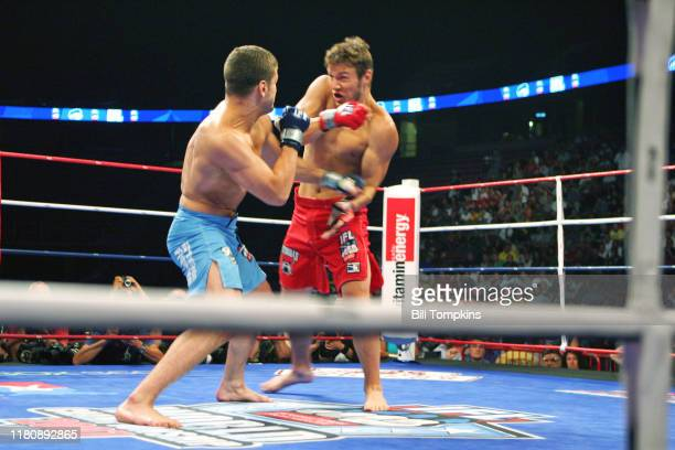Bill Tompkins/Getty Images IFL International Fight League. Dan Philips vs. Dan Miller Continental Arena August 2, 2007 in East Rutherford.