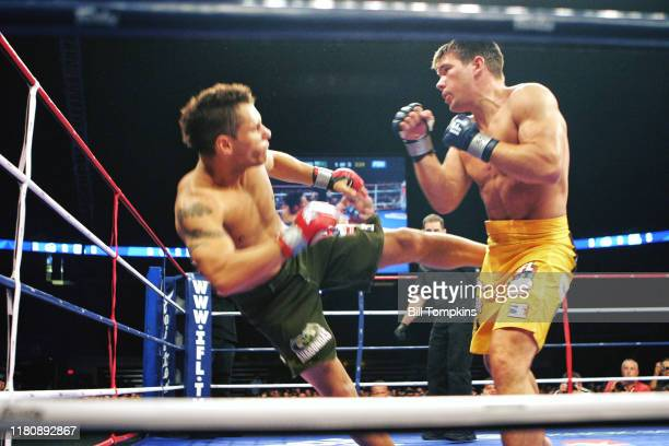 Bill Tompkins/Getty Images IFL International Fight League. Rory Markham vs. Chris Clemens Continental Arena August 2, 2007 in East Rutherford.
