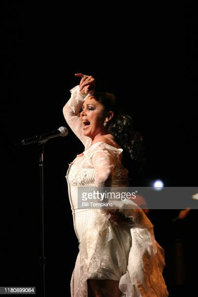 Bill Tompkins/Getty Images Isabel Pantoja performing May 15th 2004 in New York City