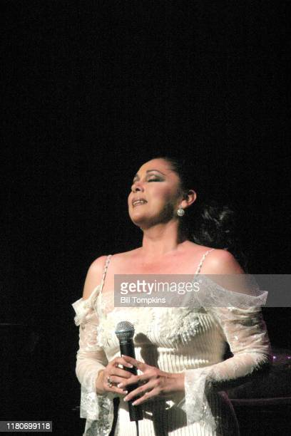 Bill Tompkins/Getty Images Isabel Pantoja performing May 15th 2004 in New York City.