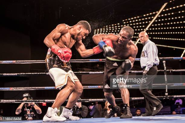 Bill Tompkins/Getty Images Ismael Villarreal defeats Anthony Woods by Unanimous Decision during their Super Welterweight fight at Madison Square...