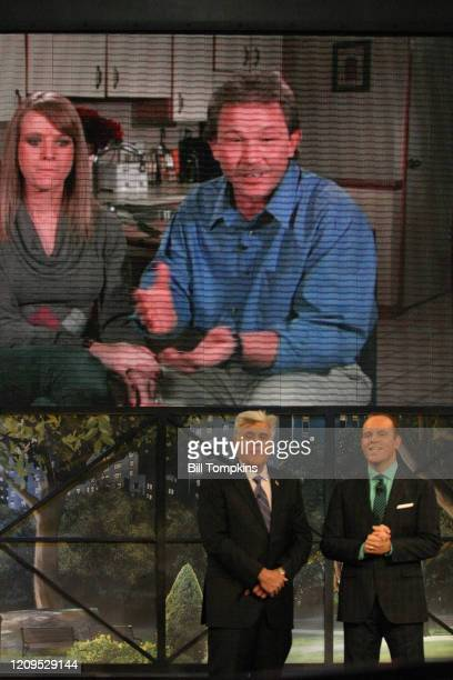 MANDATORY CREDIT Bill Tompkins/Getty Images Jay Leno and Tom Papa appear on the Season Premiere of THE MARRIAGE REF Produced by Jerry Seinfeld for...