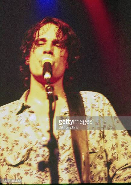 July 19: MANDATORY CREDIT Bill Tompkins/Getty Images Jeff Buckley performs on July 19th 1996 in New York City.