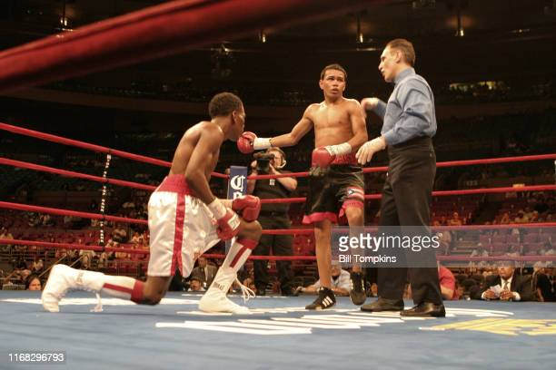 Bill Tompkins/Getty Images Jesus M Rojas defeats Torrence Daniels by Unanimous Decision in their Super Bantamweight fight at Madison Square Garden on...