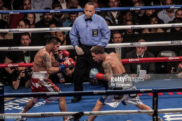 Bill Tompkins/Getty Images Jesus Marcelo Andres Cuellar defeats Jonathan Oquendo by Unanimous Decision in their Featherweight bout on December 5 2015...