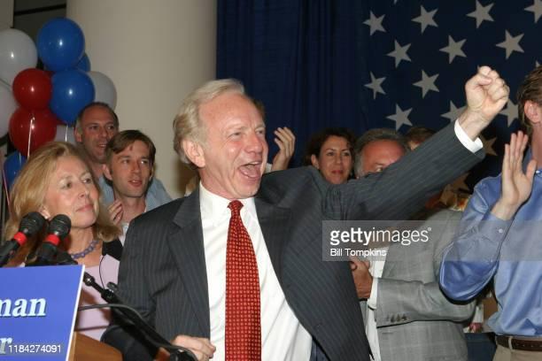 MANDATORY CREDIT Bill Tompkins/Getty Images Joe Lieberman at his concession speech in Connecticut after losing the Connecticut Democratic Senate bid...