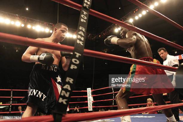Bill Tompkins/Getty Images Jorge Diaz defeats Lante Addy by Unanimous Decsion at Madison Square Garden during their Super Bantamweight fight on...