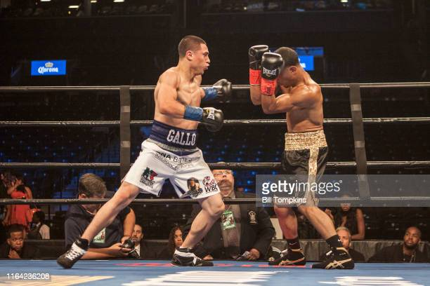 Bill Tompkins/Getty Images Jose Manuel Gomez defeats Josh Crespo in their Featherweight fight by TKO in the 1st round on July 30 2016 in Brooklyn
