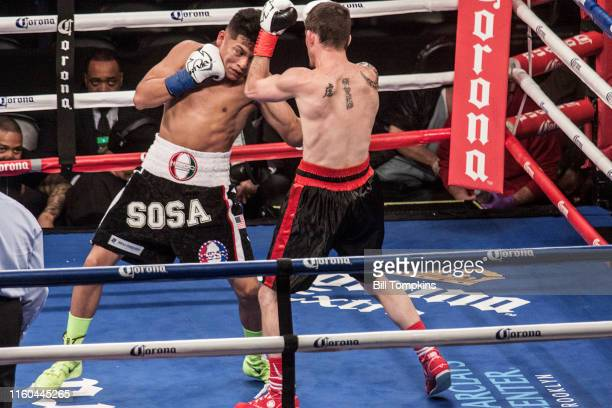 MANDATORY CREDIT Bill Tompkins/Getty Images Julian Sosa defeats Bryan Timmons by TKO in their Junior Welterweight fightnBarclay Center Brooklyn...