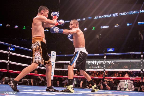 October 14: MANDATORY CREDIT Bill Tompkins/Getty Images Julian Sosa defeats Erik Daniel Martinez by Unanimous Decision in their Welterweight fight at...