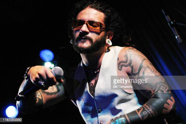 """September 27: MANDATORY CREDIT Bill Tompkins/Getty Images Karlos """"Solrak"""" Paez of B Side Players perform at the Canal Room , September 27, 2007 in..."""