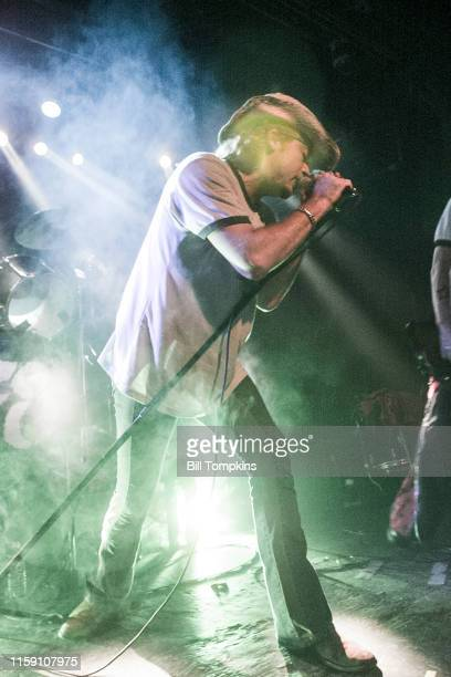October 10: MANDATORY CREDIT Bill Tompkins/Getty Images Leif Garrett performing with his band F8 at club DON HILL's on October 10, 2002 in New York...