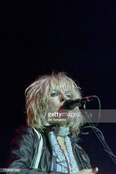 MANDATORY CREDIT Bill Tompkins/Getty Images Lucinda Williams performs on September 19 2003 in New York City
