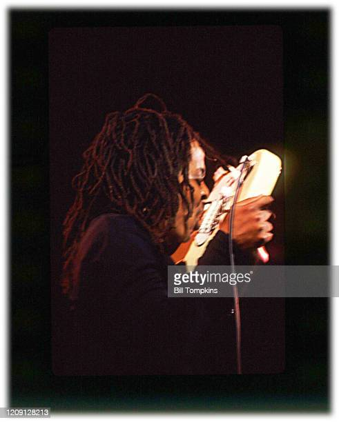MANDATORY CREDIT Bill Tompkins/Getty Images Majek Fashek on May 6th 1994 in New York City