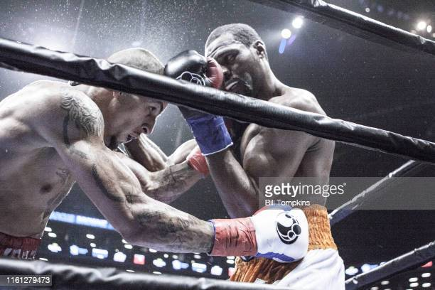 April 16: MANDATORY CREDIT Bill Tompkins/Getty Images Marcus Browne defeats Radivoje Kalajdzic by Split Decision in their Light Heavyweight fight....