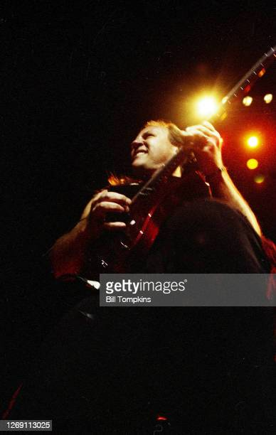 April 25: MANDATORY CREDIT Bill Tompkins/Getty Images Mark Farner of Grand Funk Railroad on April 25, 1997 in New York City.