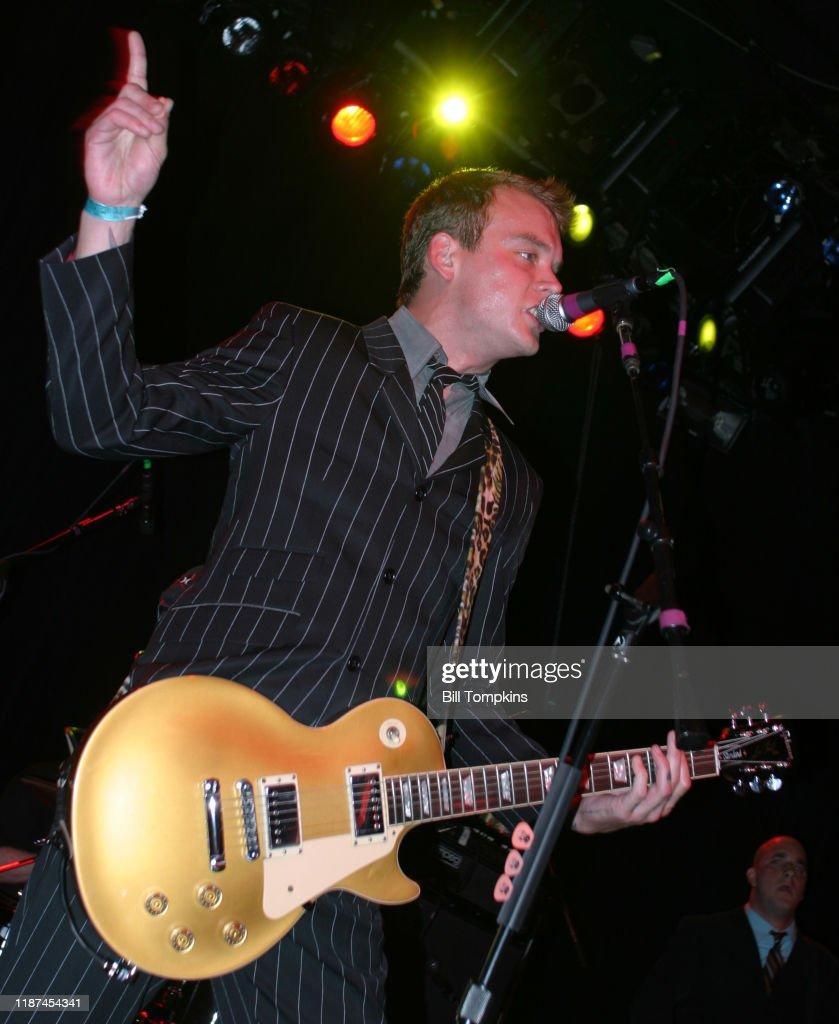 Bill Tompkins Joey Ramone Matt Skiba Alkaline Trio Archive : Foto jornalística