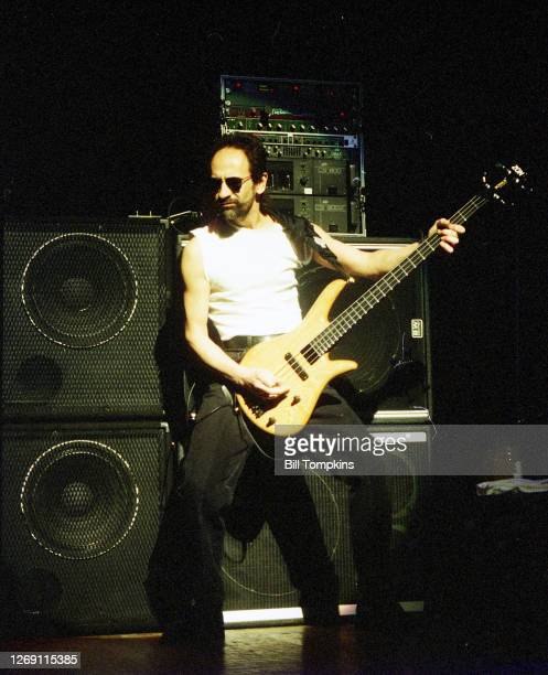 MANDATORY CREDIT Bill Tompkins/Getty Images Mel Schacher bass player for Grand Funk Railroad on April 25 1997 in New York City