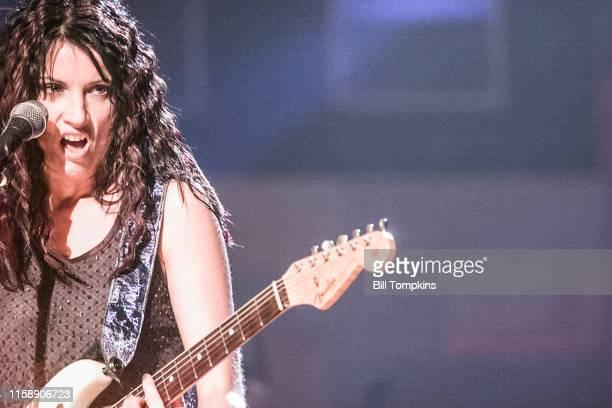 MANDATORY CREDIT Bill Tompkins/Getty Images Merdith Brooks performing September 1999 in Tulsa