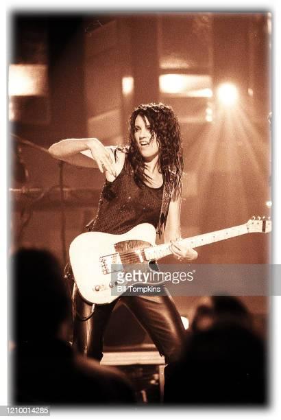 MANDATORY CREDIT Bill Tompkins/Getty Images Meredith Brooks performing September 1999 in Tulsa