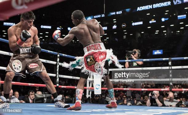 Bill Tompkins/Getty Images Mikey Garcia defeats Adrien Broner in their Super Lightweight bout by Unanimous Decision at the Barclay Center in...