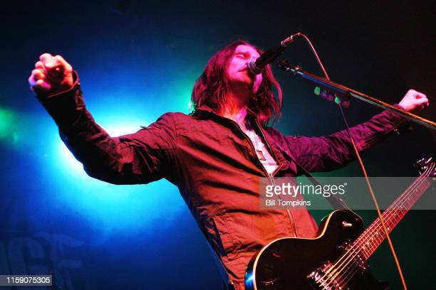 MANDATORY CREDIT Bill Tompkins/Getty Images Myles Kennedy of AlterBridge performing at the Filmore in New York CitynOctober 16 2007 in New York City