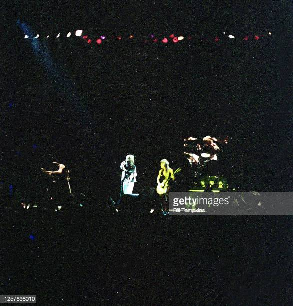 September 1981: MANDATORY CREDIT Bill Tompkins/Getty Images Ozzy Osbourne performs on September 1981 in New York City.