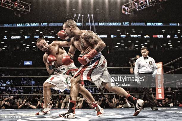 Bill Tompkins/Getty Images Paulie Malagnaggi defeats Gabriel Bracero by Unanimous Decision in their Welterweight fight at The Barclays Center on July...