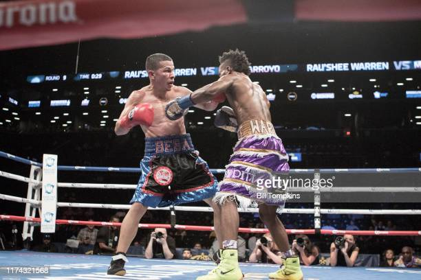Bill Tompkins/Getty Images Ran'shee Warren defeats McJoe Arroyo by Unanimous Decision during their Bantamweight bout at The Barclay Center in...