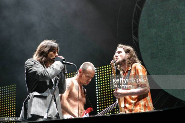 August 20: MANDATORY CREDIT Bill Tompkins/Getty Images Red Hot Chili Peppers perform at the Amsterjam Music Festival on Randall's Island, New...