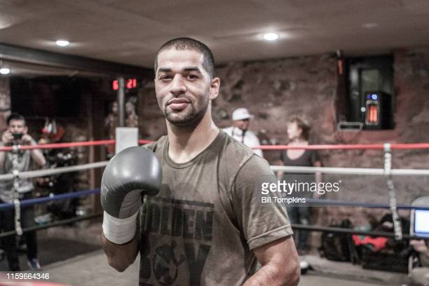 November 28: MANDATORY CREDIT Bill Tompkins/Getty Images Sadam Ali poses prior to his scheduled Junior Middleweight fight against Miguel Cotto on...