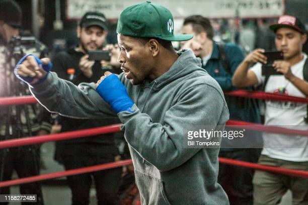March 2: MANDATORY CREDIT Bill Tompkins/Getty Images Shawn Porter works out at theGleason's Gym in Brooklyn, New Yorkon March 2, 2018 in Brooklyn.