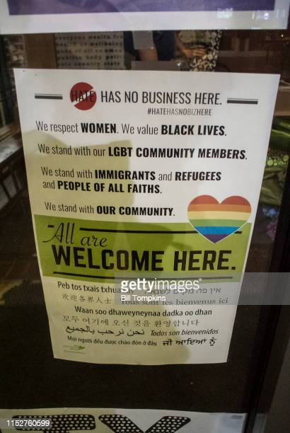 MANDATORY CREDIT Bill Tompkins/Getty Images Signage at the Heather Heyer memorial on August 18 2017 in Charlottesville On August 12 a car was...