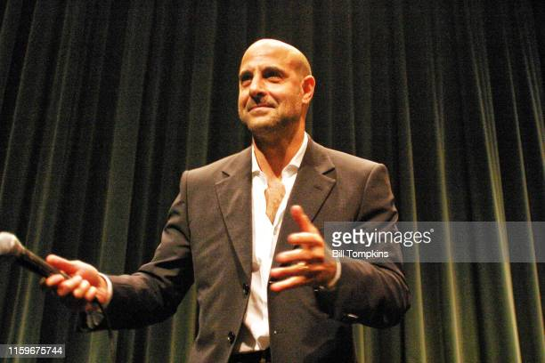June 26: MANDATORY CREDIT Bill Tompkins/Getty Images Stanley Tucci presents his film BIG NIGHT during the Lincon Center / Young Friends of Film...